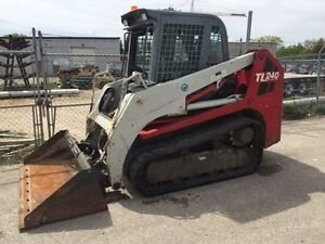 2009 TAKEUCHI TL240C COMPACT TRACK LOADER-CAB WITH HEAT AND A/C