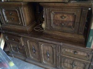 Antique/Vintage Armoire, bureau and bedroom set West Island Greater Montréal image 6