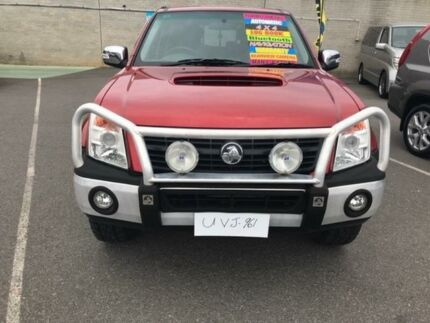 2007 Holden Rodeo RA MY07 LT Crew Cab Red 4 Speed Automatic Utility
