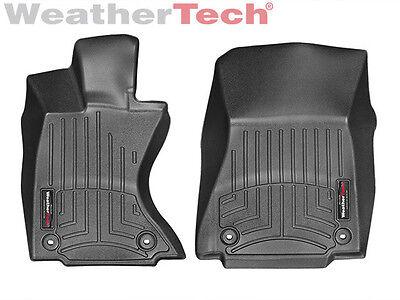 WeatherTech FloorLiner Floor Mats for Lexus IS / RC w/ AWD 1st Row - Black
