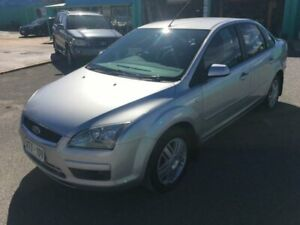 2006 Ford Focus LS Ghia Silver 4 Speed Automatic Sedan Christies Beach Morphett Vale Area Preview