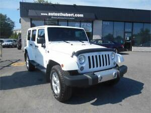 JEEP WRANGLER UNLIMITED SAHARA 4X4 2014 **NAVIGATION**