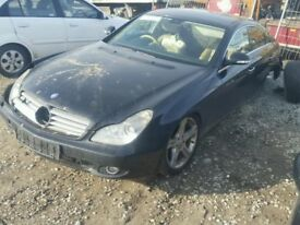 BREAKING FOR PARTS MERCEDES CLS 320 CDI 2007 IN BLACK