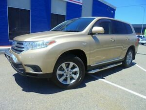2011 Toyota Kluger GSU40R MY11 KX-R 2WD Gold 5 Speed Sports Automatic Wagon Welshpool Canning Area Preview