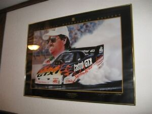 JOHN FORCE NHRA COLLECTABLE PRINT & DIECAST CARS