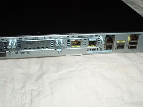CISCO Model: 2901/K9 V04  Enterprise Router