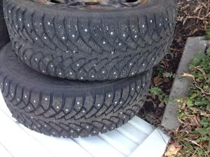 NORDIAN Winter Tires  225 / 60R / 16  with Rims & Studs Gatineau Ottawa / Gatineau Area image 2