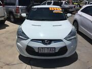2011 Hyundai Veloster FS Coupe D-CT White 6 Speed Sports Automatic Dual Clutch Hatchback Maryborough Fraser Coast Preview