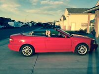 1999 Volvo C70 red Convertible