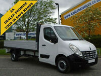 2011/ 11 Renault Master LL35Dci Dropside Pickup 12.7ft Alloy Body Fwd