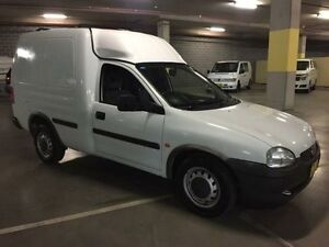 1998 Holden Combo SB White Manual Van Campbelltown Campbelltown Area Preview