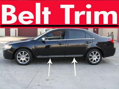 Lincoln MKZ Zephyr CHROME SIDE BELT TRIM DOOR MOLDING 2006 2007 2008 2009-2012