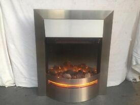 Beautiful Stainless Steel Flame Heater For Only £58 - Was £399