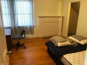 ACROSS DALHOUSIE , A ROOM IS AVAILABLE TO RENT .