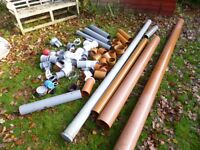 Soil and underground pipe and fittings.