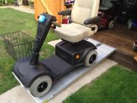 Heavy Duty Pride Celebrity Mobility Scooter Any Terrain NEW Batteries Anti Theft Alarm Only £395