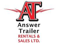 Commercial Trailers for Sale or Rent!