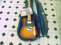 Fender Telecaster with (Upgrades) Plus Hard Case
