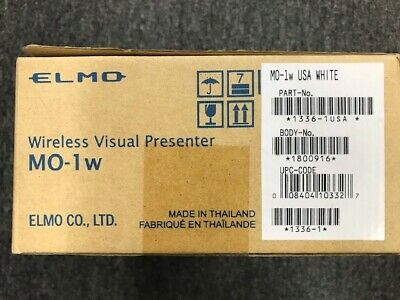 Elmo M0-1w Wireless Visual Presenter White