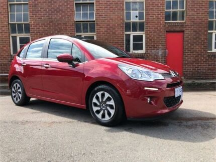 2014 Citroen C3 A51 MY14 Seduction Red Manual Hatchback Hamilton North Newcastle Area Preview