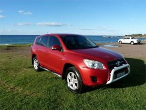 2009 Toyota RAV4 ACA33R 08 Upgrade CV (4x4) Red 5 Speed Manual Wagon Fairy Meadow Wollongong Area Preview