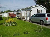 Prestige Mini Home for sale 16'x 64' . White Frost Village Area