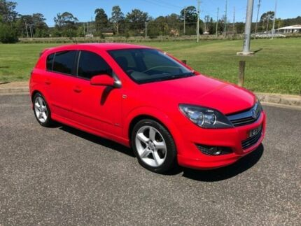 2007 Holden Astra AH SRi Red Automatic Hatchback