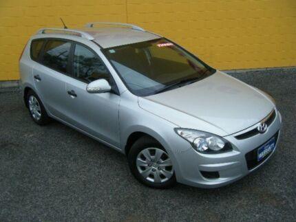2011 Hyundai i30 FD MY11 SX cw Silver 5 Speed Automatic Wagon Winnellie Darwin City Preview
