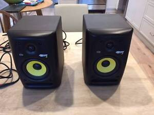 "Rokit 5"" KRK (Two Speakers plus cables) Ivanhoe Banyule Area Preview"