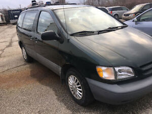1999 Toyota Sienna 3.0vvt emission tested or best offer