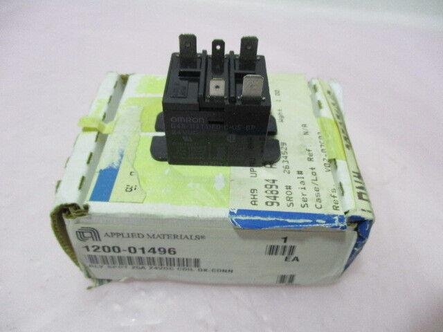 AMAT 1200-01496, Omron G4B-112T1-FD-C-US-RP, Relay SPDT 25A 24VDC Coil, 419341