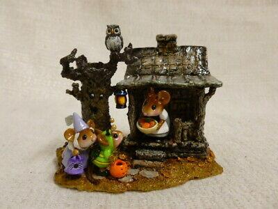 Wee Forest Folk Halloween Night Special M-344 Haunted House Pumpkin ()