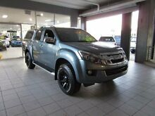 2015 Isuzu D-MAX TF MY15 LS-Terrain HI-Ride (4x4) Mineral Grey 5 Speed Automatic Dual Cab Thornleigh Hornsby Area Preview