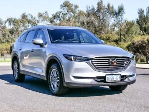 2018 Mazda CX-8 KG2W2A Sport SKYACTIV-Drive FWD Silver 6 Speed Sports Automatic Wagon Cannington Canning Area Preview