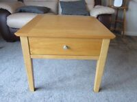 Teak side/coffee table