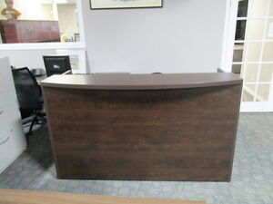 Recption Desk L-Shaped-Located in Oshawa-Open to the Public Peterborough Peterborough Area image 2