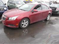 2012 CHEVROLET CRUZE LT TURBO 71000KM, $9995