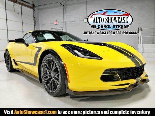 2019 Yellow Chevrolet Corvette Z06 3LZ | C7 Corvette Photo 1