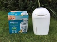 *** Tommee Tippee Sangenic Tec Nappy Disposal Tub ***