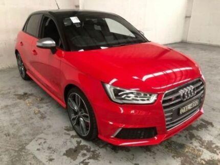2015 Audi A1 8X MY15 SPORTBACK Red Manual Hatchback Gateshead Lake Macquarie Area Preview