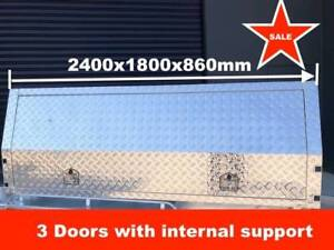 UTE CANOPY 2400X1800X860 MM, THREE DOORS Notting Hill Monash Area Preview