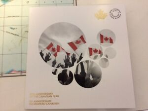 50th Anniversary of the Canadian Flag Commemoration Quarters