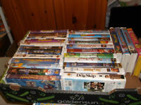 28 VHS USED TAPES IN EXCELLENT WORKING CONDITION