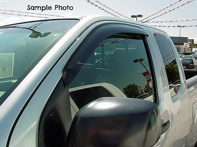 Tape-on Vent Shades 2 piece for a GMC Pickup, Sonoma 1994 - 2003 Gmc 2 Piece Sonoma Vent