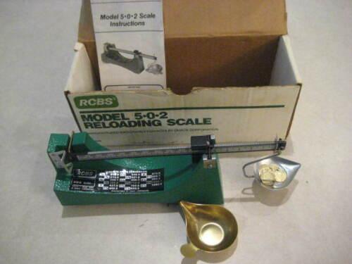RCBS Model 5-0-2 Reloading Powder Scale