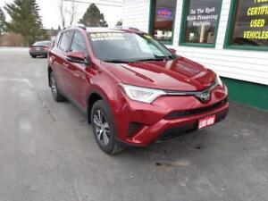 2018 Toyota RAV4 LE AWD for only $236 bi-weekly! Only 6900kms!