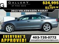 2013 Volkswagen Passat 2.5L $179 bi-weekly APPLY NOW DRIVE NOW