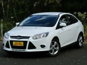 2014 Ford Focus LW MKII MY14 Trend PwrShift White 6 Speed Sports Automatic Dual Clutch Sedan Melrose Park Mitcham Area Preview