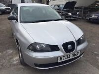 2004 Seat Ibiza, starts and drives well, 1 years MOT (runs out March 2018), small engine size, cheap