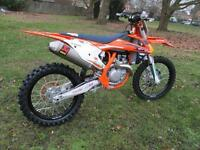 KTM SXF450 2017 FACTORY EDITION